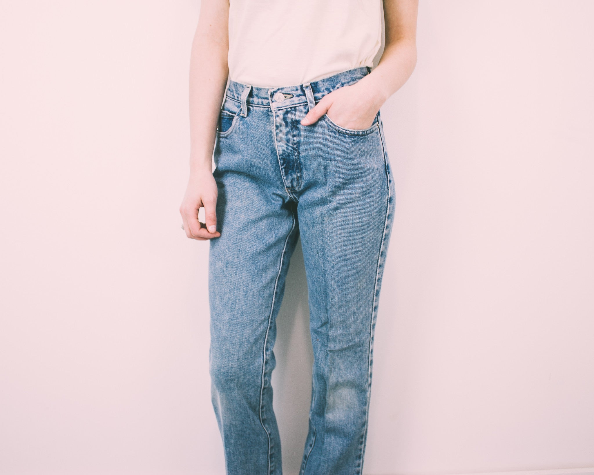 "ALL SIZES ""HERA"" Vintage High Waisted Denim Jeans"