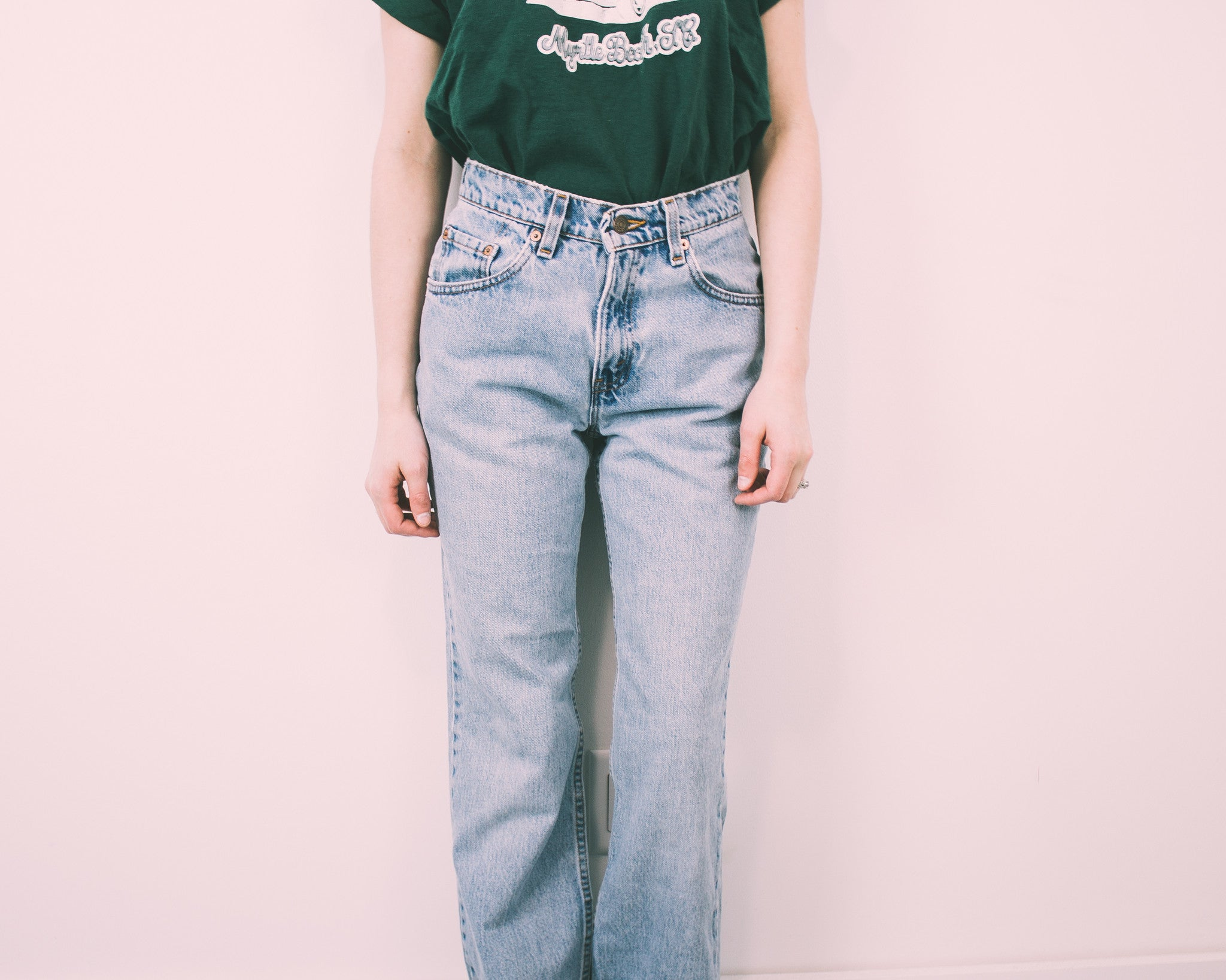"ALL SIZES ""ZUES"" Vintage LEVIS High Waisted Denim Jeans"