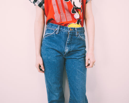 "ALL SIZES ""HERMES"" Vintage High Waisted WRANGLER Denim Jeans"
