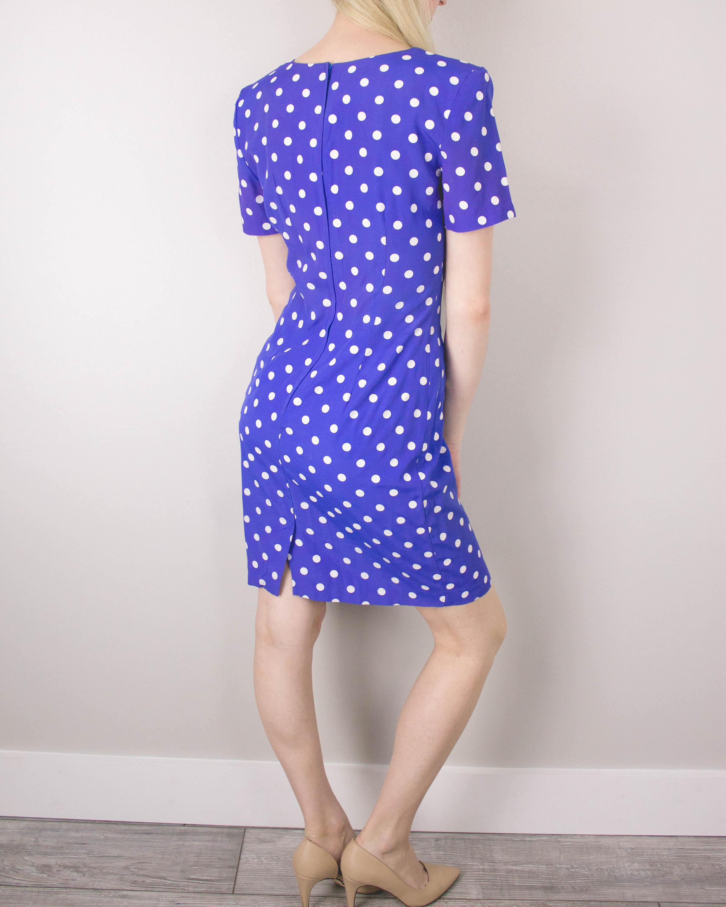 Vintage Polka Dot Dress