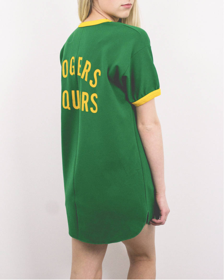 Vintage Liquor Jersey Shift Dress