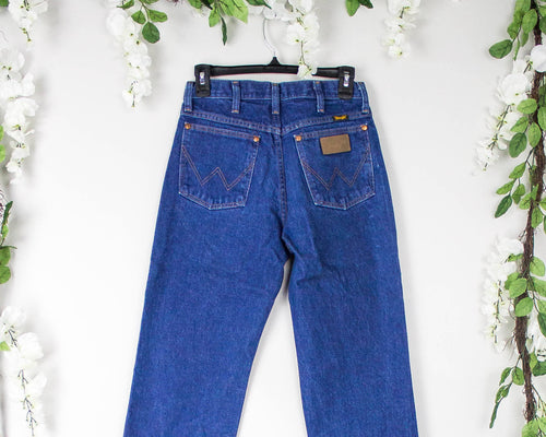 Vintage 26/27 Wranglers High Waisted Jeans