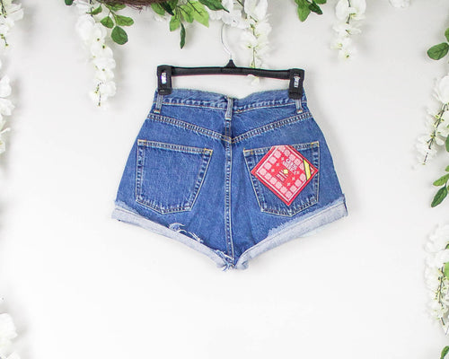 Vintage 26/27 Guess High Waisted Shorts