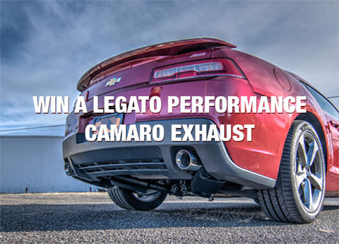 Enter to Win a Legato Performance Camaro Exhaust