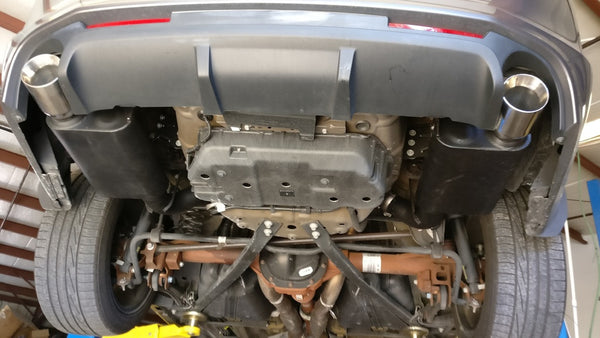 Best 2013 Ford Mustang exhaust system from Legato