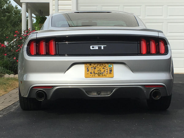 2015 Mustang GT axle back exhaust