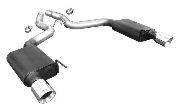 Ford Mustang GT V8 Axle Back Exhaust 2015-'17 Coupe Only - Buy Online