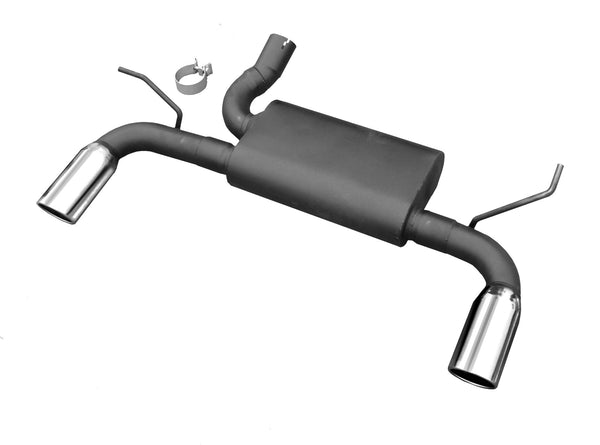 2012-'16 Jeep Wrangler V6 Axle Back Exhaust - Buy Online