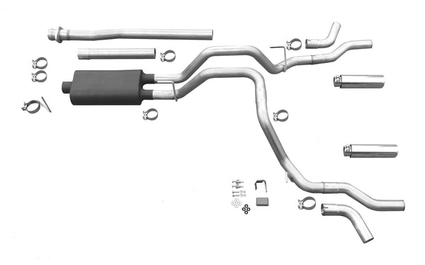 2009-2014 Ford F-150 V8, V6 Engine Exhaust Cat Back System