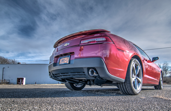 2014 V6 Camaro Axle Back Exhaust Loud Mouth Autos Post