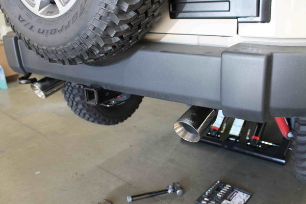 Best Year For Jeep Wrangler >> Jeep Wrangler Exhaust Axle Back for 2007-2017 - Best Buy Online – Legato Performance