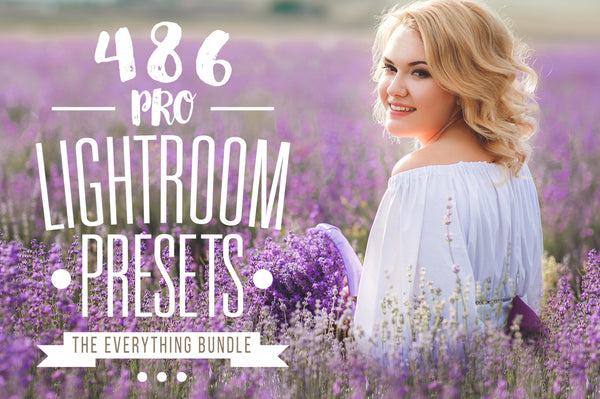 Pro Lightroom presets bundle.
