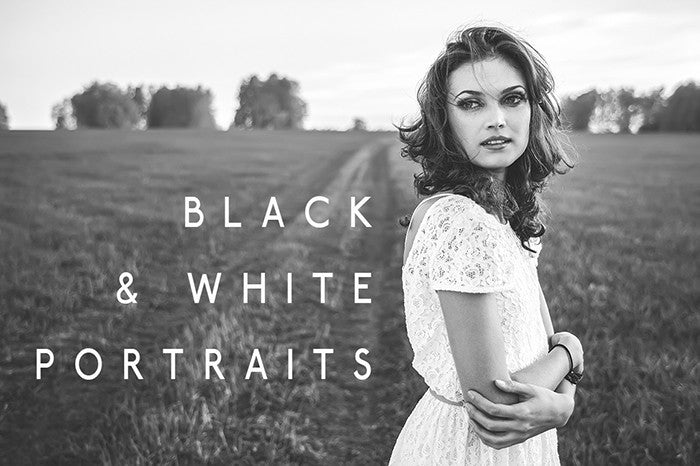 B&W Portraits Lightroom Presets