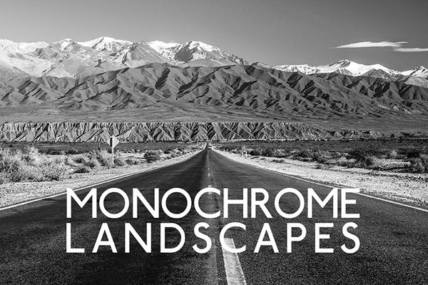 Monochrome Landscapes Lightroom presets