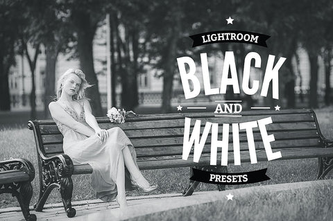 Elegant Black and White Lightroom Presets