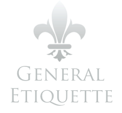 General Etiquette - One Day Intensive Course