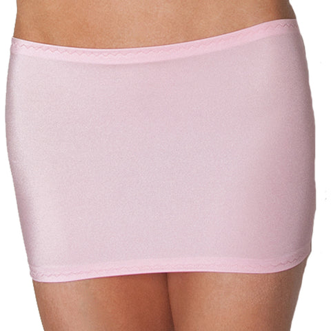 CS05 - Baby Pink Lycra Micro Mini Skirt (9-10 Inch Length)