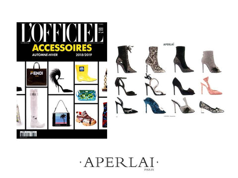 L'OFFICIEL ACCESSOIRES 04-18- April 2018