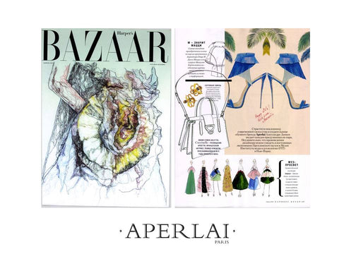 HARPERS BAZAAR RUSSIA APRIL 2016 APERLAI PARIS