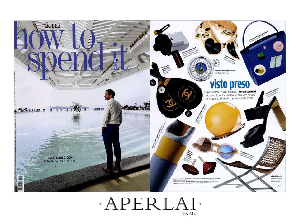 HOW TO SPEND IT- August 2016