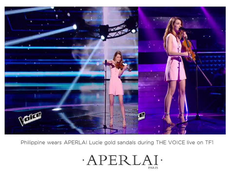 PHILIPPINE THE VOICE APRIL 2016 APERLAI PARIS