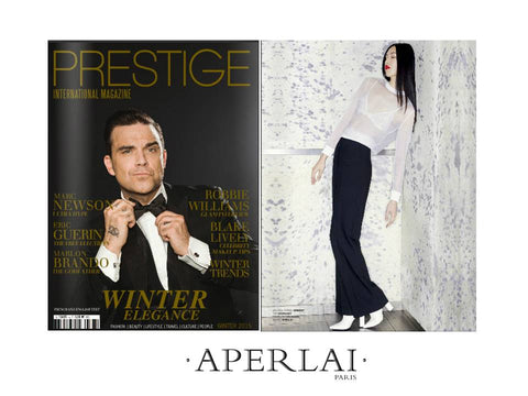 PRESTIGE INTERNATIONAL MAGAZINE AVRIL 2016 APERLAI PARIS