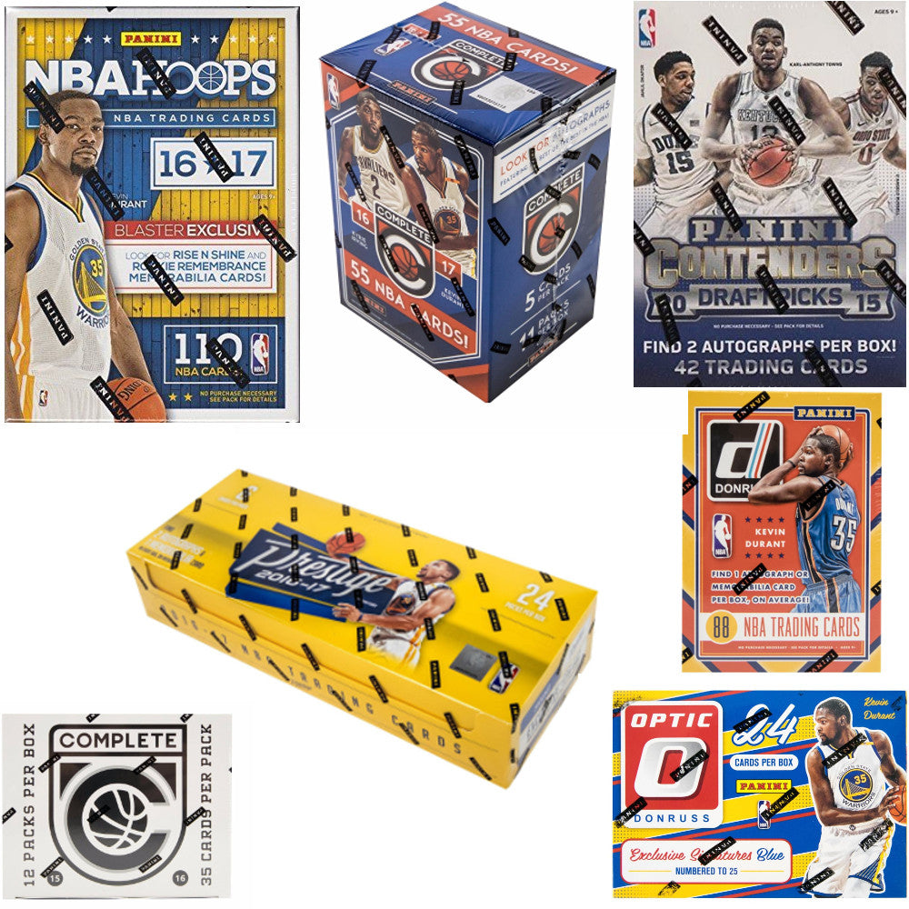 NEW NBA Panini Boxes available in Australia in various Series and Years