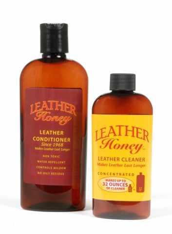 Leather Honey's Leather Conditioner (240ml) PLUS Leather Cleaner Concentrate (120ml) -  - West End TCG - 1