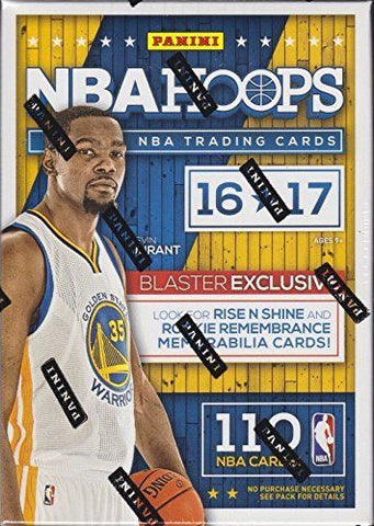 2016/17 Panini Hoops Basketball 10 Pack Box