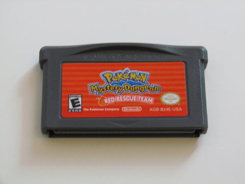 Pokemon Mystery Dungeon RED Game Boy Advance Game