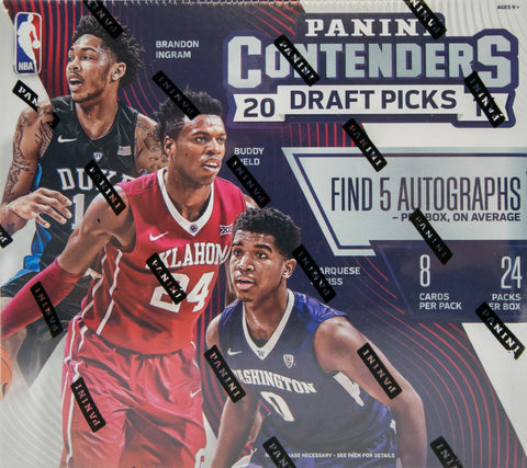 2016/17 Panini Contenders Draft Picks NBA Hobby Box