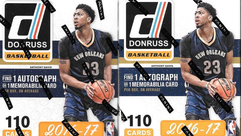 2016/17 Panini Donruss Basketball 10 Pack Blaster Box