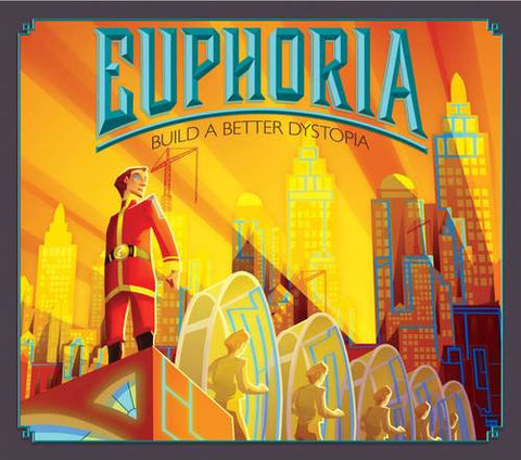 Euphoria: Build a Better Dystopia - Board Game