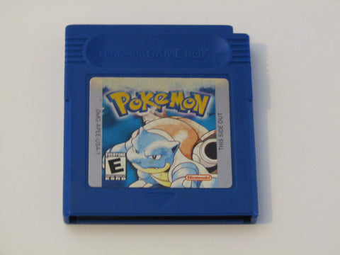 Pokemon Blue Game Boy Game