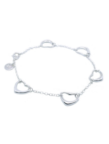 Heart Linked Bracelet - lvndr