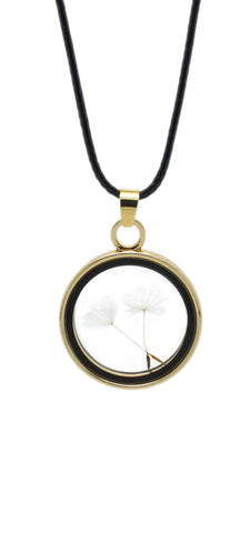 Dandelion Pendant Necklace - lvndr