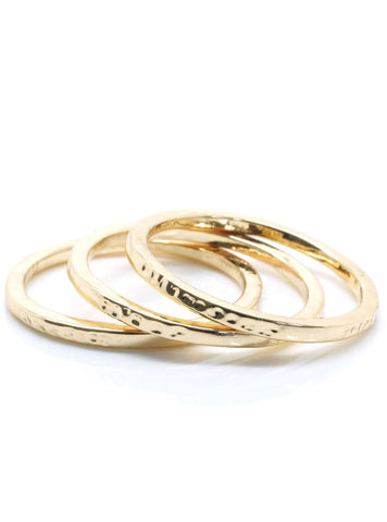 Fine Stacking Rings - lvndr  - 1