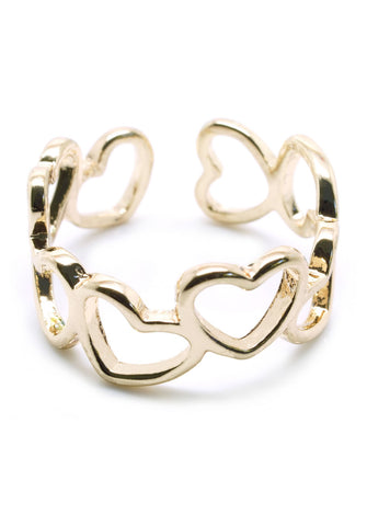 Heart to Heart Ring - lvndr  - 1