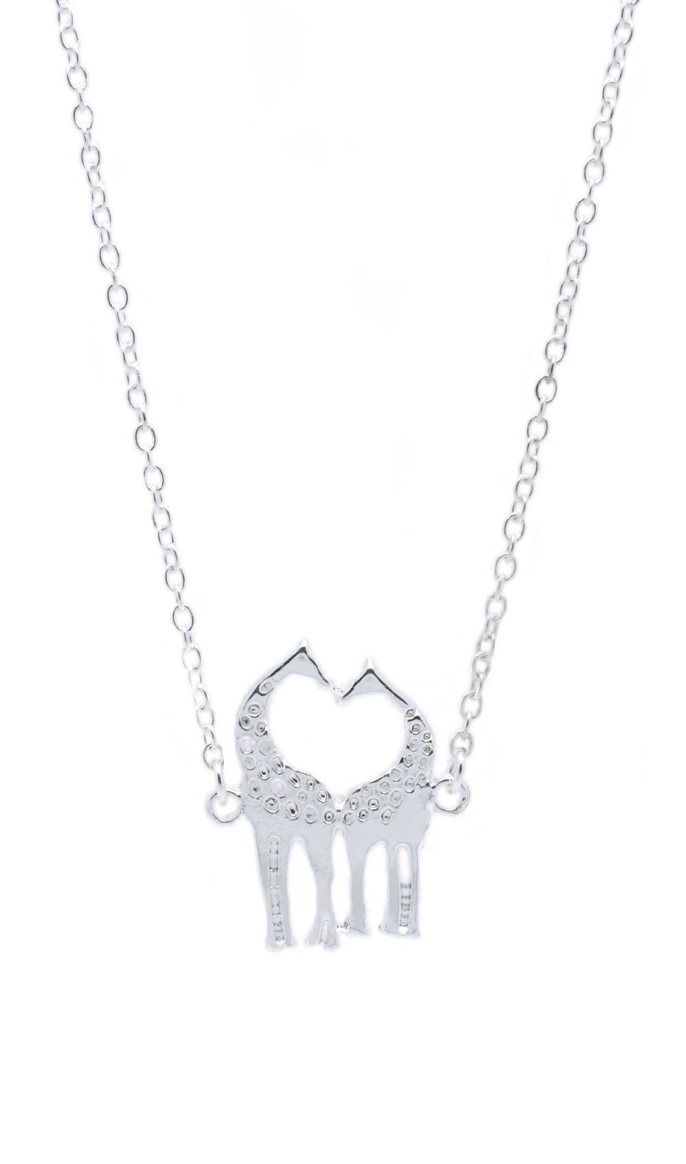 Kissing Giraffe Necklace - lvndr  - 2