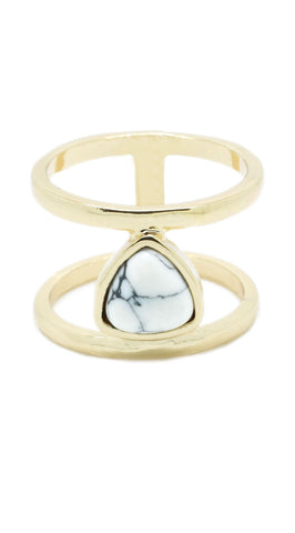 Marble Cut-Out Ring - lvndr  - 1