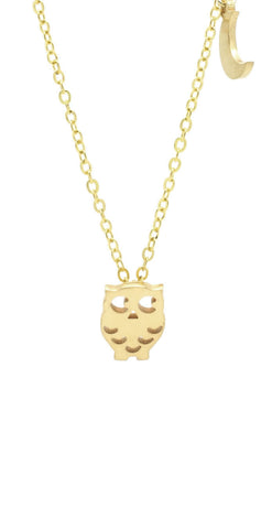 Owl Necklace - lvndr