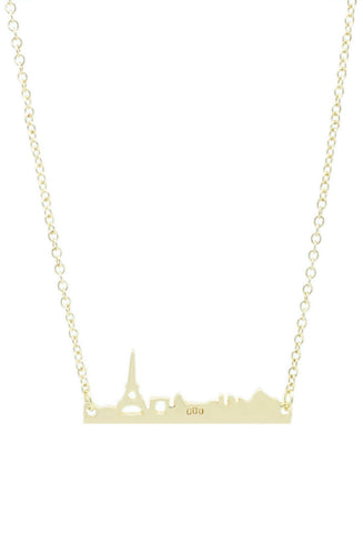 Paris Skyline Necklace - lvndr  - 1
