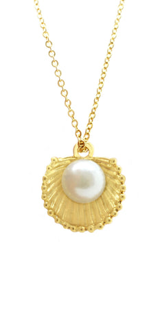 Pearl Shell Necklace - lvndr  - 1