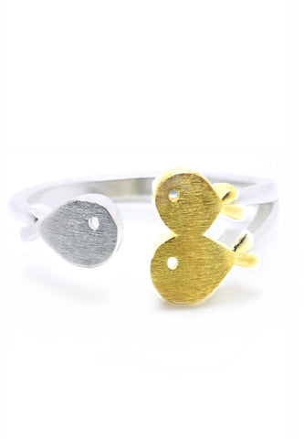 Luxe Shoal Fish Ring - lvndr  - 1