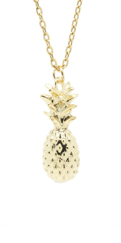 Solid Pineapple Necklace - lvndr  - 1