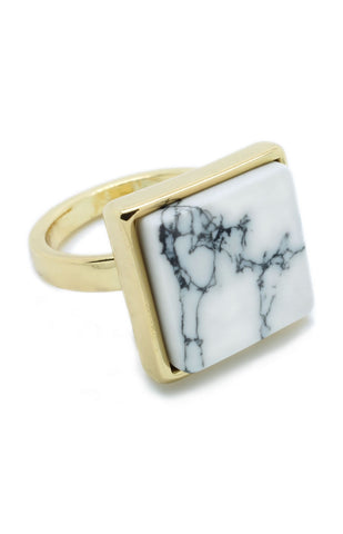 Square Marble Ring - lvndr  - 1