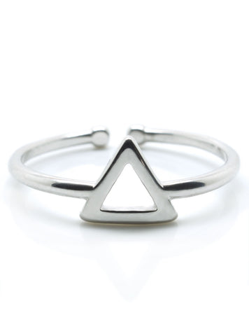 Luxe Triangle Ring - lvndr  - 1