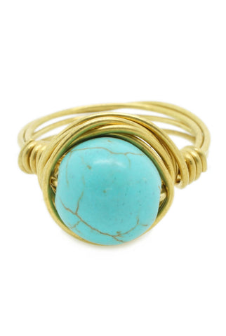 Vintage Turquoise Ring - lvndr  - 1