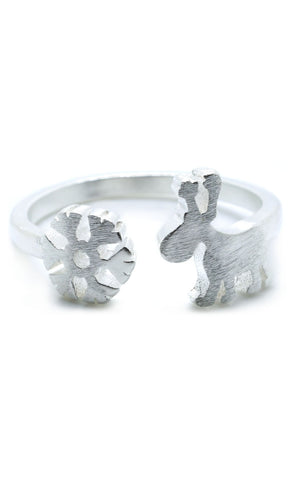 Luxe Winter Deer Ring - lvndr  - 1