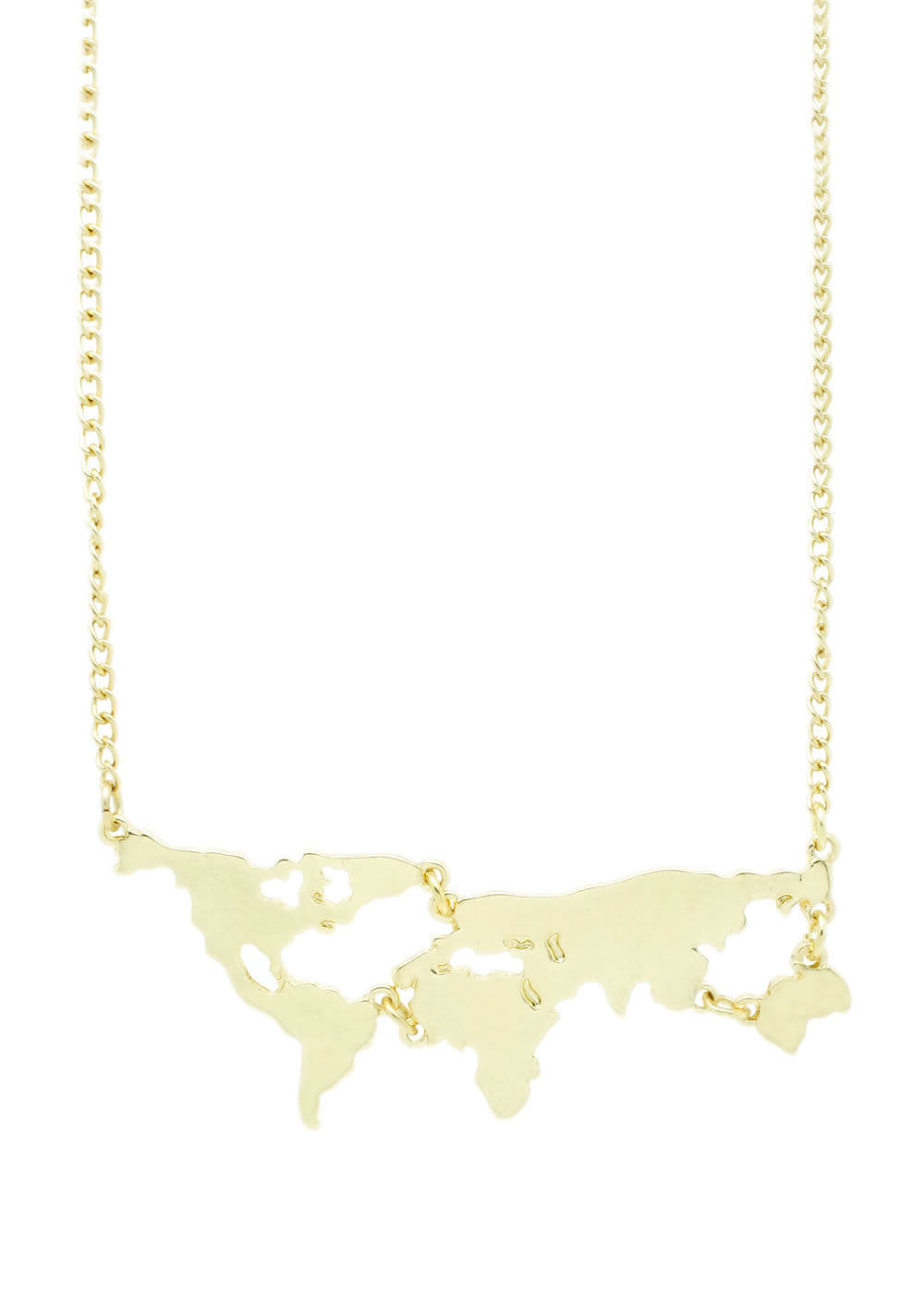 World Map Necklace - lvndr  - 1